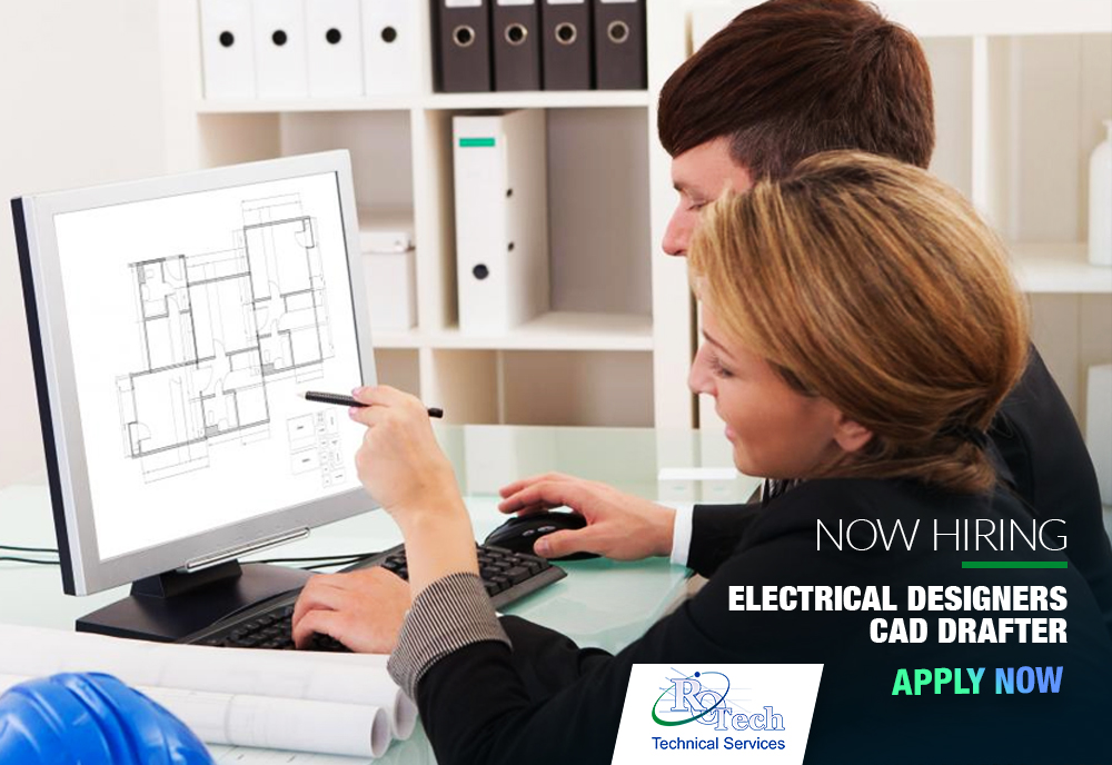 Job Vacancy  Electrical Designers Cad Drafter