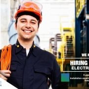job opening electrician