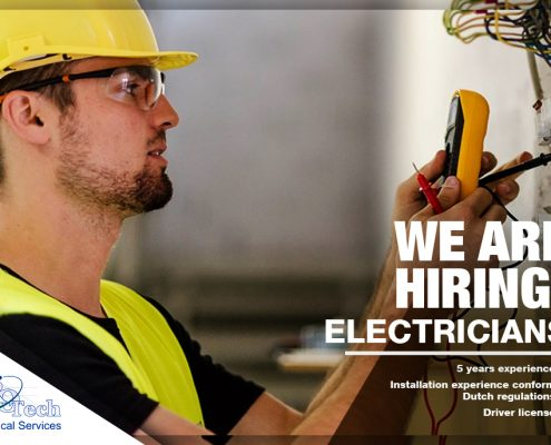 jobs aruba electrician